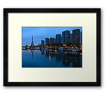 Sunrise on Paris Framed Print