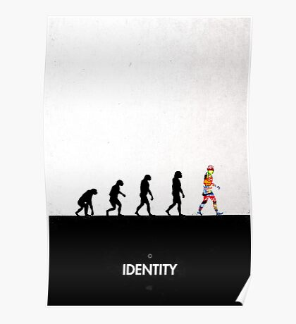 99 Steps of Progress - Identity Poster