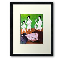 Wicked Game - Over Framed Print