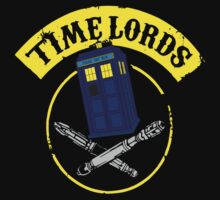 Dr Who, Time Lord by BUB THE ZOMBIE