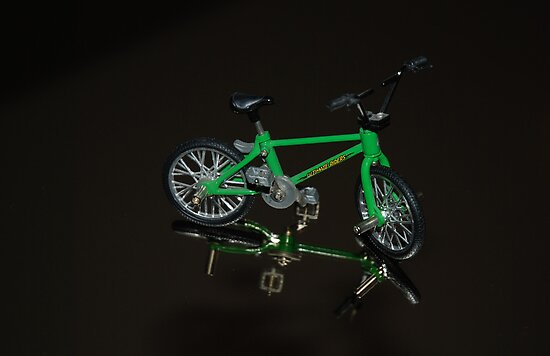 The green bike by julie08