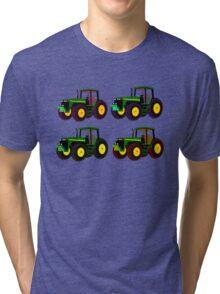 4 tractor fun Tri-blend T-Shirt
