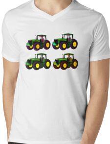 4 tractor fun Mens V-Neck T-Shirt