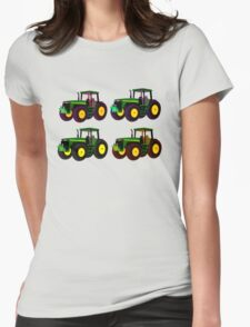 4 tractor fun Womens Fitted T-Shirt