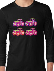 4 tractor fun Long Sleeve T-Shirt