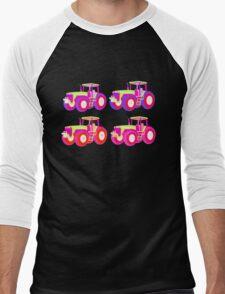 4 tractor fun Men's Baseball ¾ T-Shirt