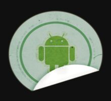 Android Sticker shirt by anguishdesigns
