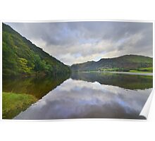 The Lake District: Brother's Water Reflections Poster