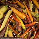 Colorful Carrots. by Lee d'Entremont