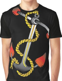 Anchor - Vintage Tattoo Graphic T-Shirt