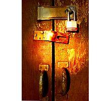 master lock Photographic Print