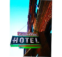 cadillac hotel Photographic Print