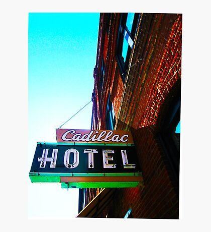 cadillac hotel Photographic Print