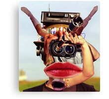 The Photographer Spotter. Canvas Print