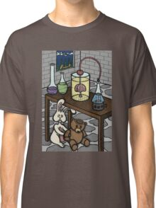 Teddy Bear and Bunny - The Rescue Came Too Late Classic T-Shirt