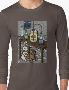 Teddy Bear and Bunny - The Rescue Came Too Late Long Sleeve T-Shirt