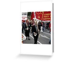 Communists Greeting Card