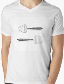 Cheese slicers Mens V-Neck T-Shirt