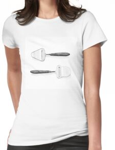 Cheese slicers Womens Fitted T-Shirt