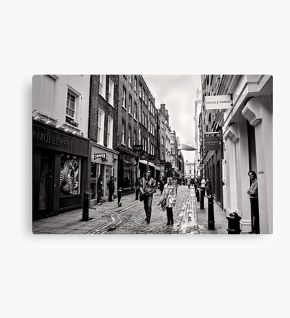 An afternoon shopping in London - Britain Canvas Print