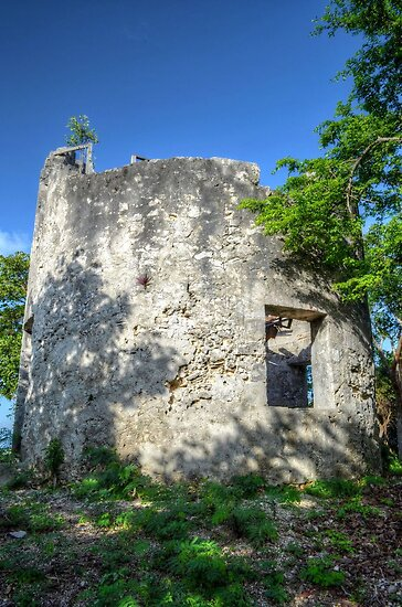 Blackbeard's Tower in Eastern Nassau, The Bahamas by Jeremy Lavender Photography