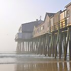 Pier Point in the Mist by Poete100