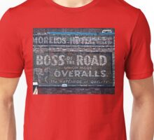 Ghost Sign: Boss of the Road, Sacramento Unisex T-Shirt