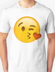Kiss heart emoji Unisex T-Shirt