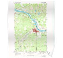 USGS Topo Map Washington State WA Newport 242815 1968 24000 Poster