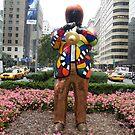 Miles Davis Statue, Park Avenue, New York, Niki de Saint Phalle, Artist by lenspiro