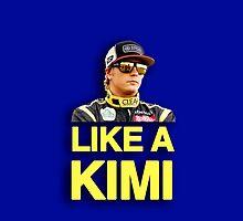 Like A Kimi by brilliantbutton