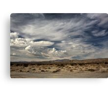 Sweeping Canvas Print