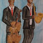 Jazz Musicians by Alison Pearce