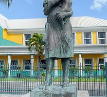 Monument to the Bahamian Woman in Nassau, The Bahamas by 242Digital