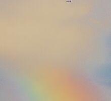 Somewhere Over the Rainbow, Jetliners Fly 9.30.2012 by Lilliana Méndez