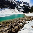 Beginning the Thaw - Lake Louise, Alberta, Canada by Sean Farrow