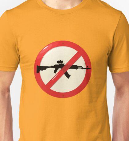 No guns allowed Unisex T-Shirt