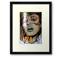 Bad Girls Do It Well Framed Print