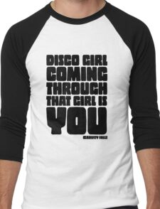 Disco Girl Gravity Falls Men's Baseball ¾ T-Shirt
