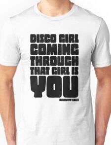 Disco Girl Gravity Falls Unisex T-Shirt