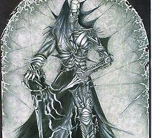 Dark knights; Psyberman 1st by lunawolfe