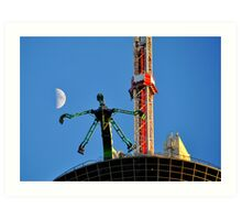 Ride To The Stratosphere Art Print