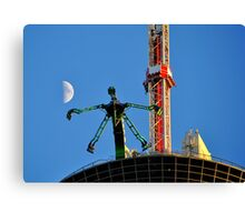 Ride To The Stratosphere Canvas Print