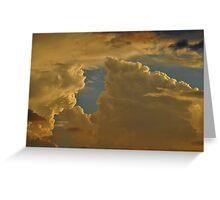Monsoon Cloud Greeting Card