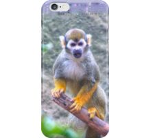 Squirrel Monkey iPhone Case/Skin