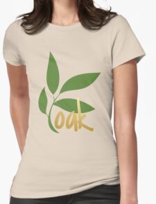 TK Alum Oak Womens Fitted T-Shirt