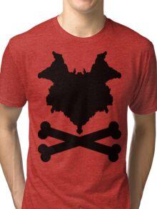 The Blot & Crossbones (Black) Tri-blend T-Shirt