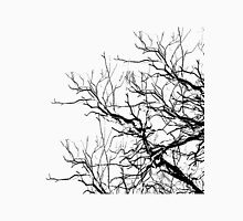 Tree Limbs 2 Black and White T-Shirt
