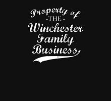 Property of The Winchester Family Business Womens Fitted T-Shirt