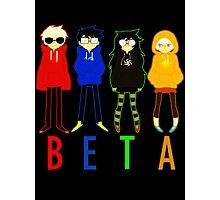 Beta Photographic Print